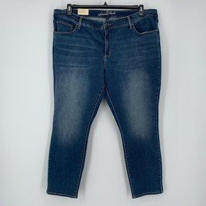 NWT Universal Thread Blue Denim Skinny Jeans 22W